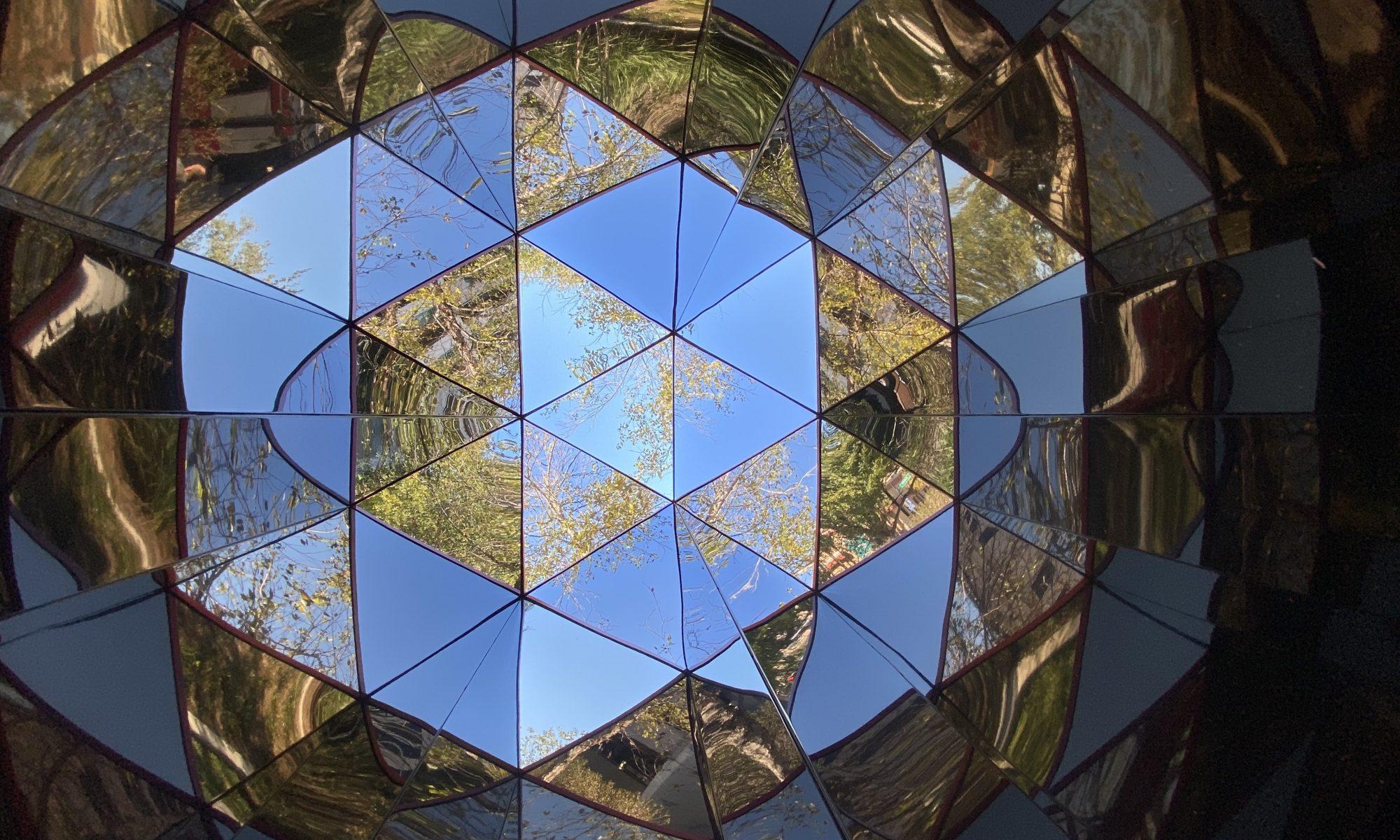 Jaxoscope - a public art kaleidoscope sculpture